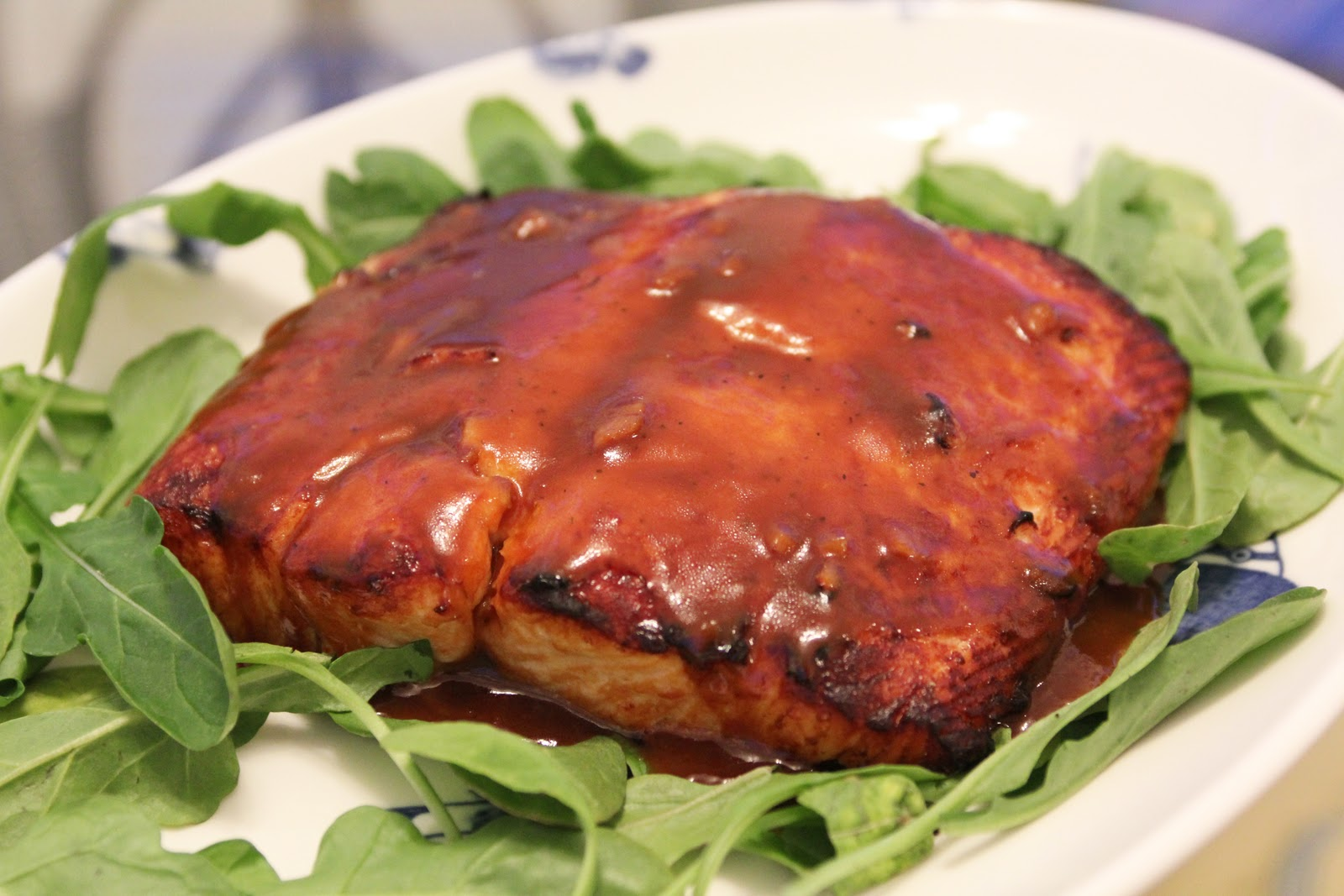 Devouring DC: Orange-Soy Glazed Salmon