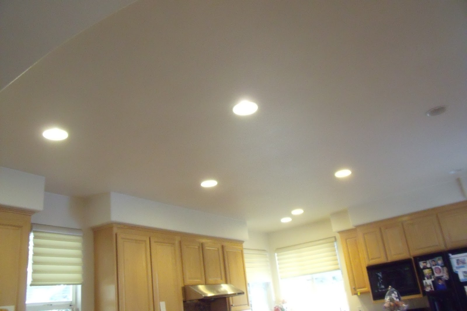 Led Ceiling Lights For Kitchens : Home decorating pictures led kitchen light fixtures