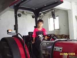 oğlumun traktörü