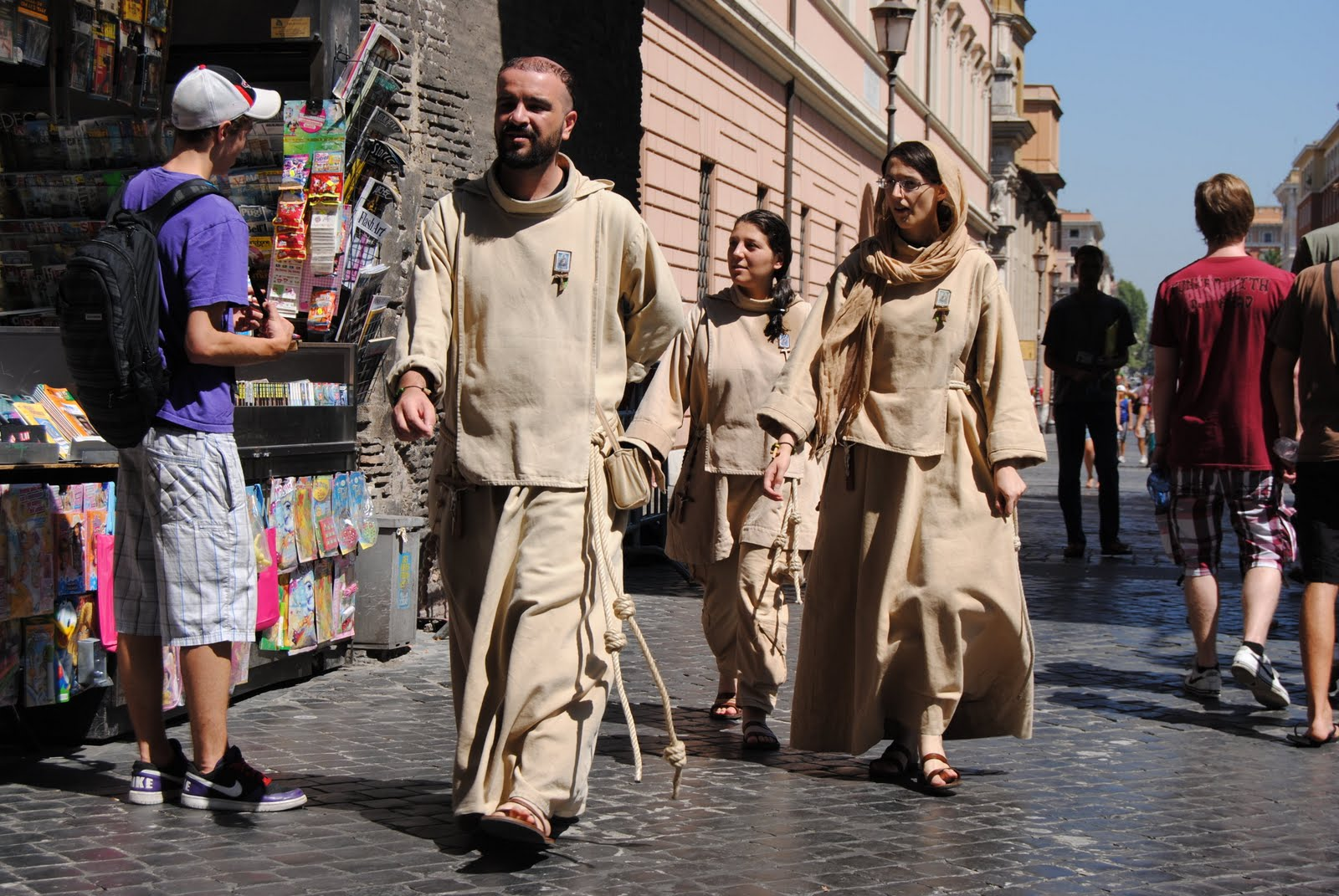 Orbis catholicus secundus from rome third order franciscans for The franciscan