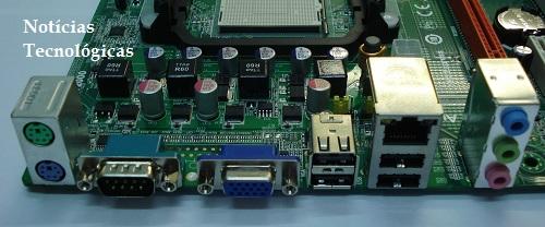 Painel Traseiro da ECS MCP61M-M3
