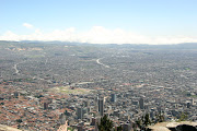 Bogota from above