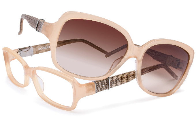 Robert Marc eyewear - RM250 and RM632, both in limited edition Raffia (explained below)