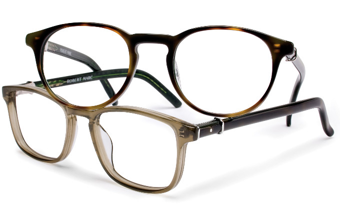 Robert Marc eyewear: RM251-127 and RM252-129