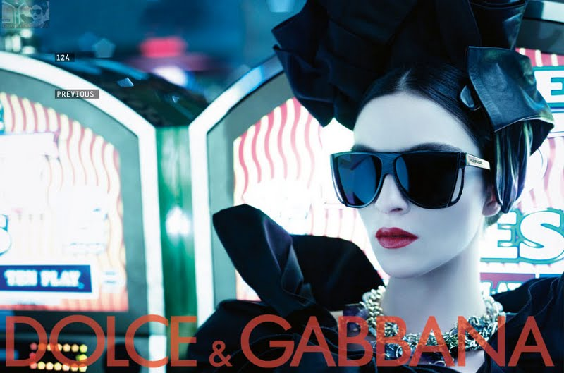 Dolce & Gabbana sunglasses advert 2009