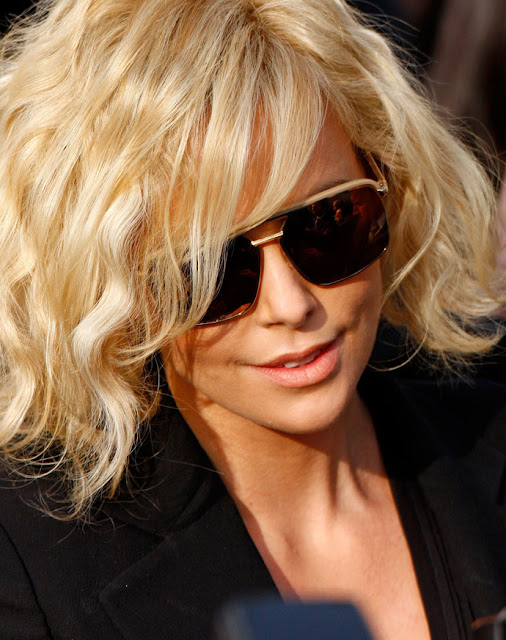 Dior Havane sunglasses as worn by Charlize Theron. Photo: Getty Images / Lorenzo Santini