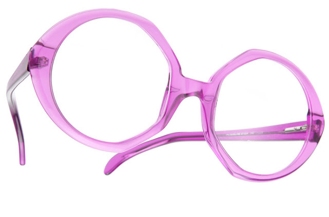 Round glasses from RoundGlasses: Jacqueline in purple