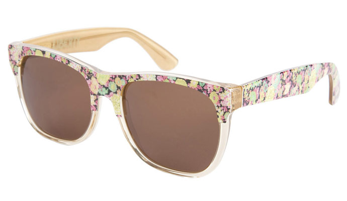 Retro Super Future Liberty print limited edition sunglasses for 2010: Elysian