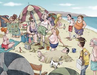 Fabian zaccaria ilustraciones for En zacatecas hay playa