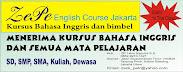 Kursus Bahasa Inggris Membuka Pendaftaran Murid Baru