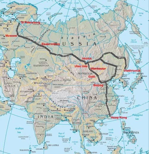 transsibiriska järnvägen pris forum