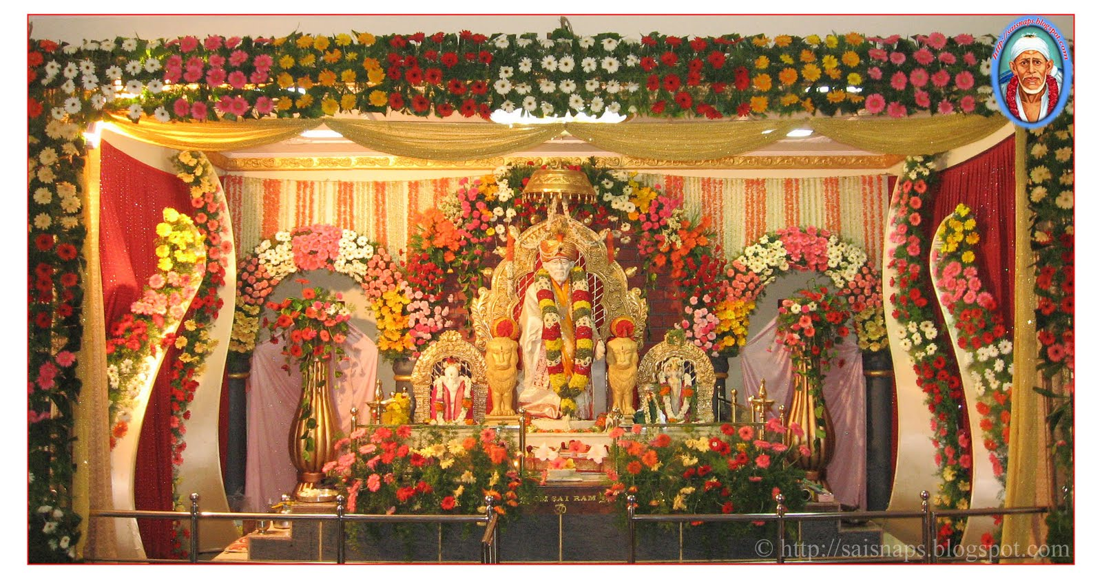 Guru Poornima Celebration At Sri Shirdi Sai Baba Mandir JayanagarE Tumkur