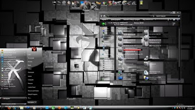 silverX 7 theme windows 7
