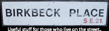 Birkbeck Place