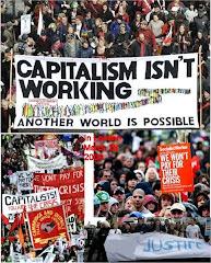تظاهرات هزاران نفر درلندن علیه سرمایه داری شنبه 28 مارس 2009