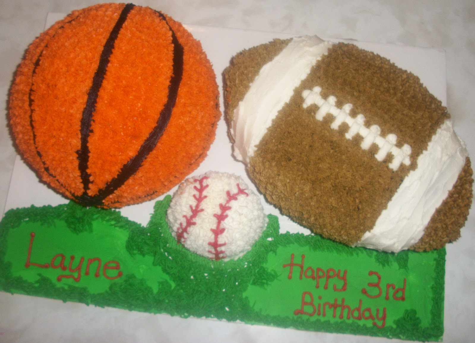 Walmart Graduation Cake  Sports