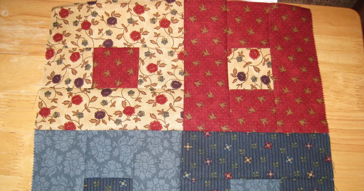 Quilt Patterns To Knit : Living4Quilting (and Tatting and Knitting Too! ): Jelly Roll Quilt Block 3