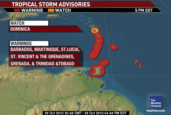ibelmopan  tropical storm tomas updates