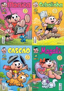 Turma da Mônica em quadrinhos