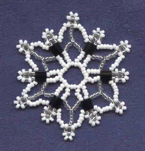 Beaded Snowflake Ornament - Better Homes and Gardens Online
