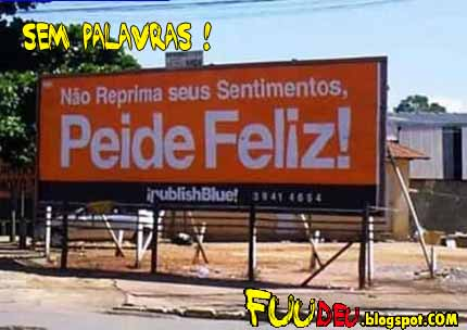 Peide feliz - fuudeu.blogspot.COM
