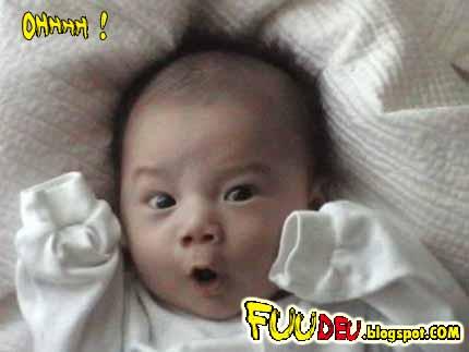 Ohhhh - fuudeu fudeu fodeu - bebe assustado