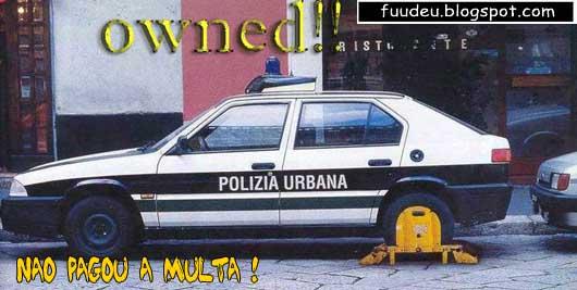 Policia presa