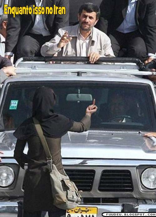 Enquanto isso no IRAN