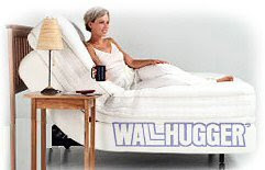 Wallhugger Adjustable Bed