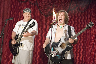 Jack Black in Tenacious D and the Pick of Destiny