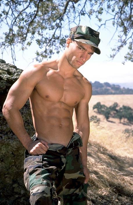 It's actually a sorta biography/memoir of the author as a gay marine, ...