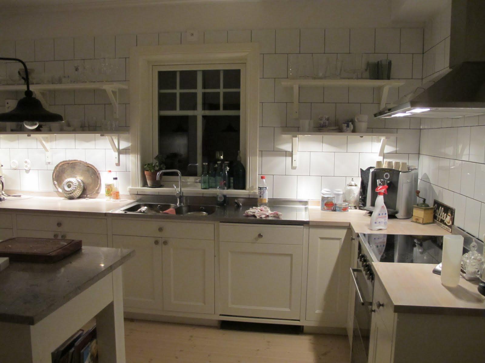 Hem till Äppelbacken: köket!