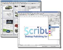 Scribus Aplikasi Pembuat E-book Gratis