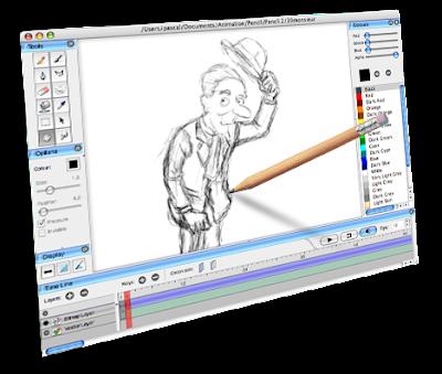 Membuat Film Kartun Dan ANimasi dalam Format Flash