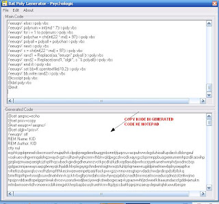 Mengenkripsi Virus Batch Sehingga Tidak Terdeteksi AV