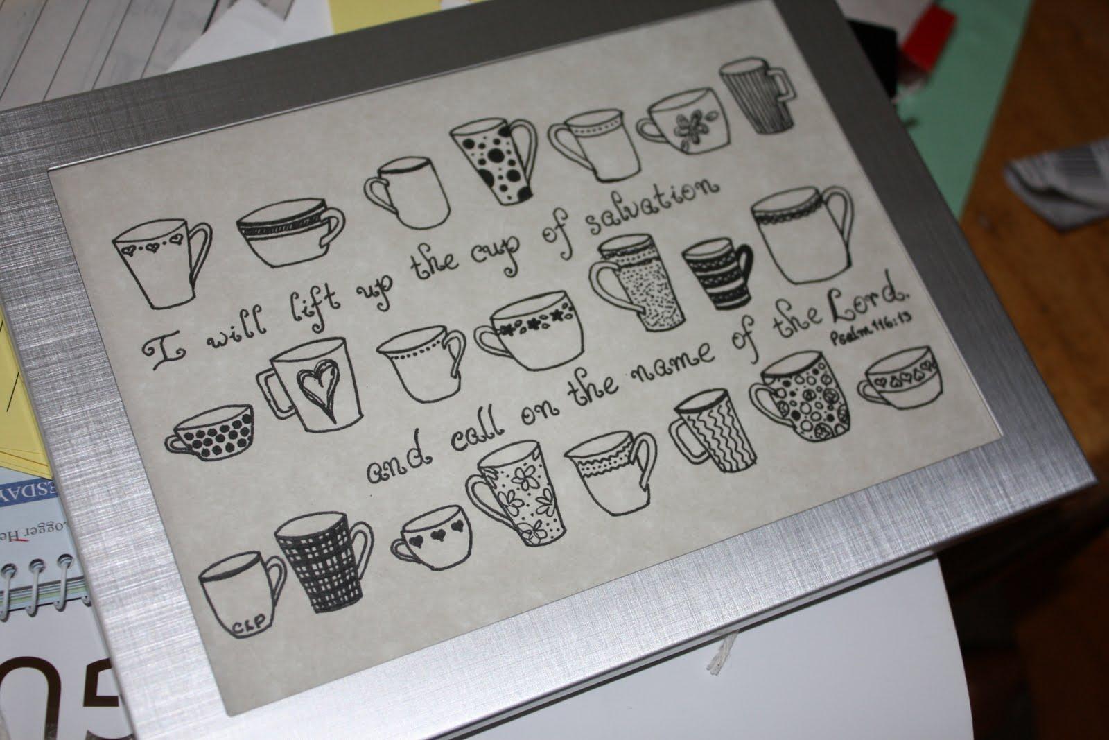 A homemaker s journal recent calligraphy