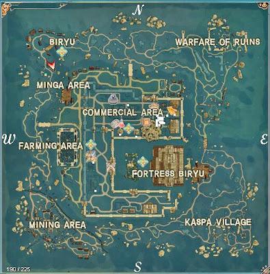 Todo sobre los mapas en Last Game Biryu7