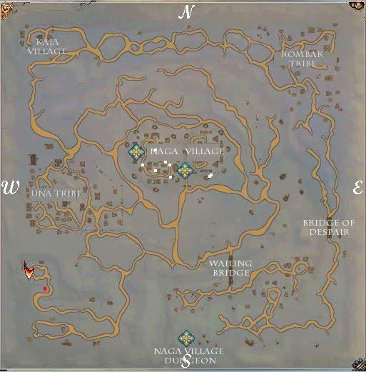 Todo sobre los mapas en Last Game Naga-villaje