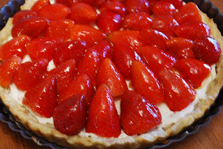 Cooking This and That: Strawberry Tart with Orange Cream
