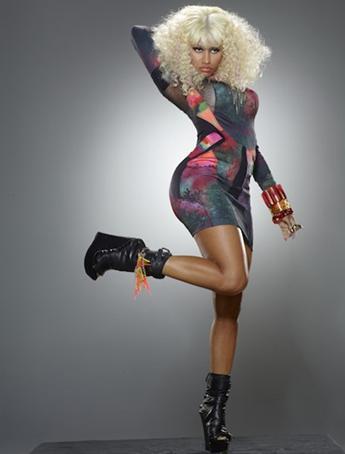 Erykah Badu/ Nicki Minaj Vibe Cover. Vibe Magazine