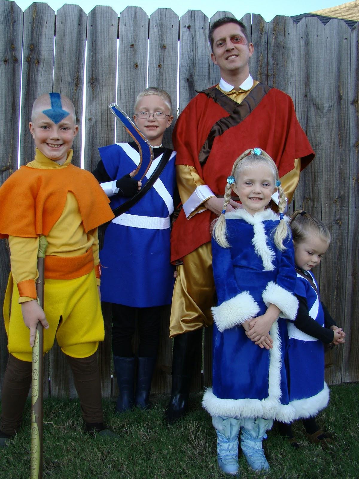 patterson a-team: an avatar halloween!