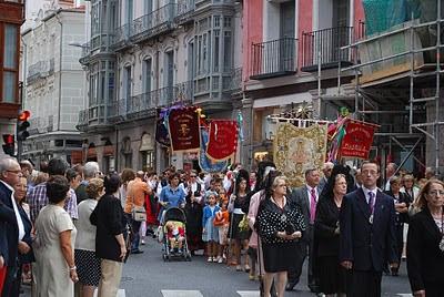 Procesion de La Virgen de San Lorenzo Valladolid 2010