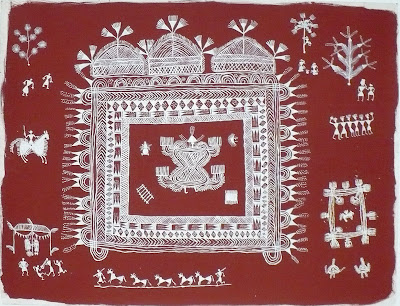 warli painting india master works
