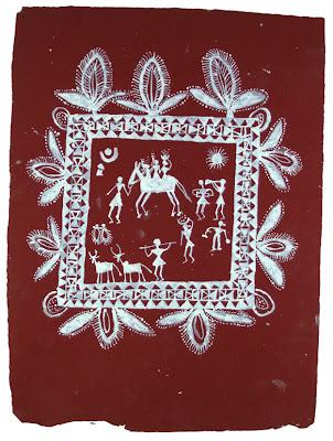 warli ritual painting