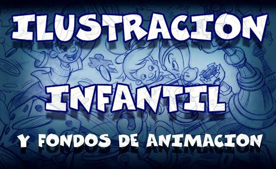 Ilustración infantil - Fondos de animación