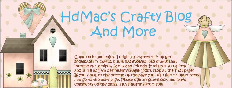 HDMac's Crafty Blog and More