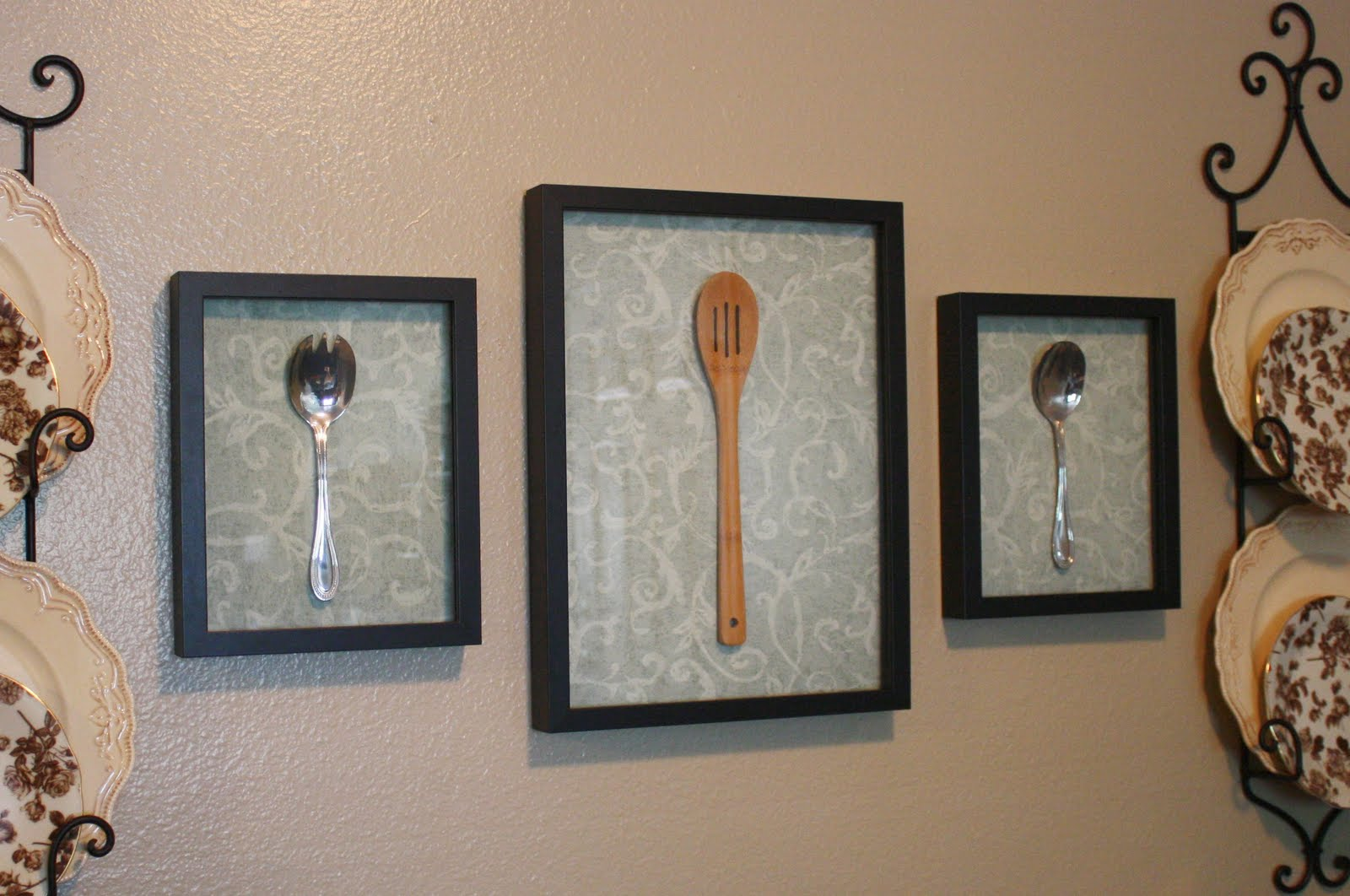Wall Decor For Kitchen Ideas : Bayberry creek crafter diy wall art for the kitchen