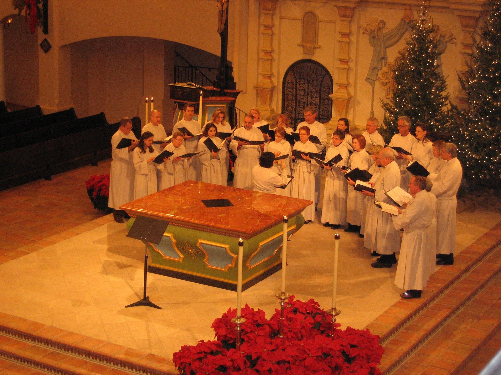 Visitation Chior Midnight Mass Concert Christmas Eve 2007