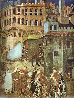 Ambrogio Lorenzetti, The Effects of Good Government
