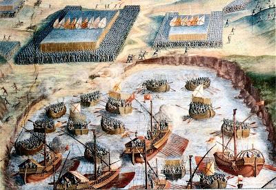 Terciera landing, 1583